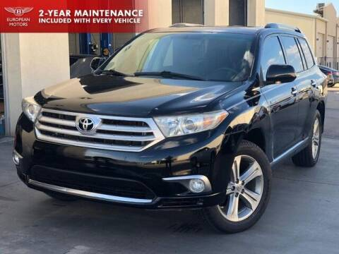 2011 Toyota Highlander for sale at European Motors Inc in Plano TX