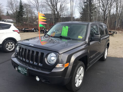 2016 Jeep Patriot for sale at Greg's Auto Sales in Searsport ME