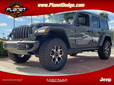 2020 Jeep Wrangler Unlimited for sale at PLANET DODGE CHRYSLER JEEP in Miami FL