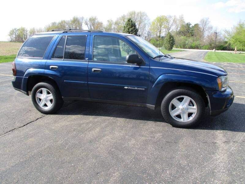 2003 Chevrolet TrailBlazer for sale at Crossroads Used Cars Inc. in Tremont IL