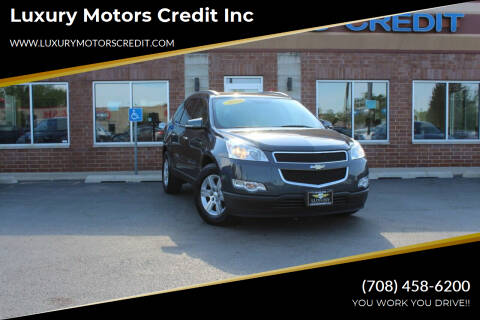 2010 Chevrolet Traverse for sale at Luxury Motors Credit Inc in Bridgeview IL