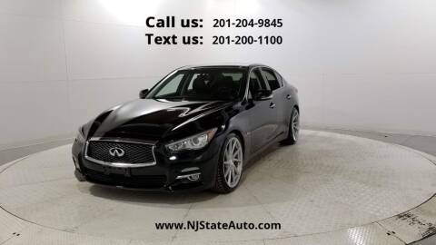 2016 Infiniti Q50 for sale at NJ State Auto Used Cars in Jersey City NJ