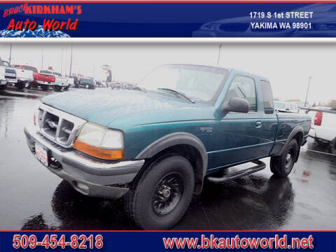 1998 Ford Ranger for sale at Bruce Kirkham Auto World in Yakima WA