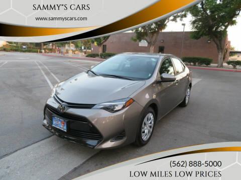 "2019 Toyota Corolla for sale at SAMMY""S CARS in Bellflower CA"