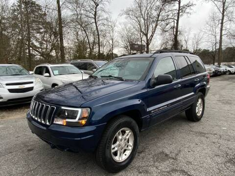 2001 Jeep Grand Cherokee for sale at Car Online in Roswell GA