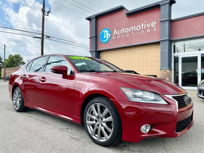 2013 Lexus GS 350 for sale at Automotive Solutions in Louisville KY