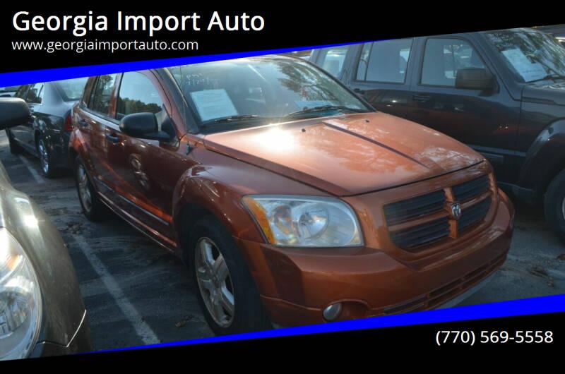 2007 Dodge Caliber for sale at Georgia Import Auto in Alpharetta GA