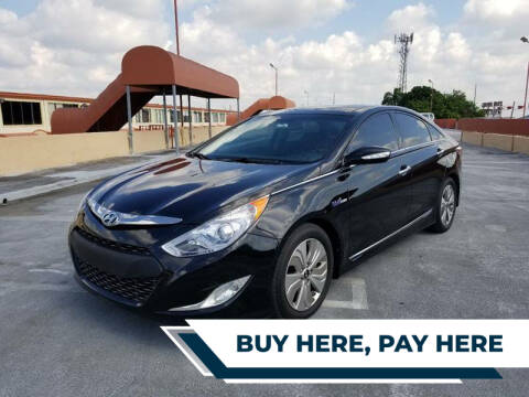 2014 Hyundai Sonata Hybrid for sale at Alma Car Sales in Miami FL