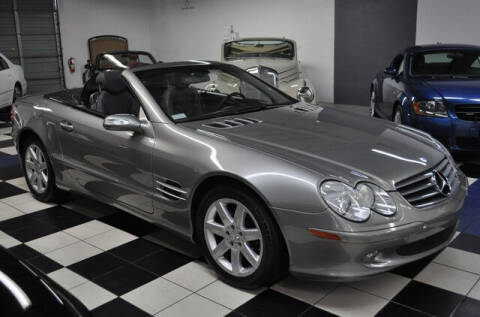 2004 Mercedes-Benz SL-Class for sale at Podium Auto Sales Inc in Pompano Beach FL