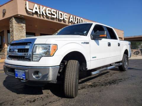 2014 Ford F-150 for sale at Lakeside Auto Brokers in Colorado Springs CO