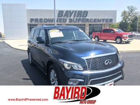 2017 Infiniti QX80 for sale at Bayird Truck Center in Paragould AR