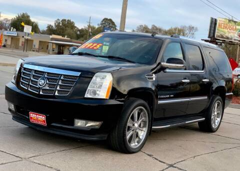 2008 Cadillac Escalade ESV for sale at SOLOMA AUTO SALES in Grand Island NE