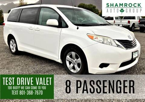 2014 Toyota Sienna for sale at Shamrock Group LLC #1 in Pleasant Grove UT