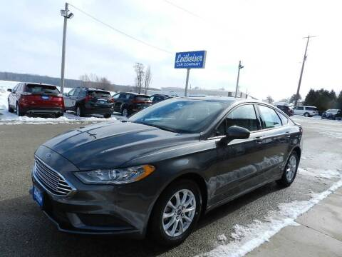 2017 Ford Fusion for sale at Leitheiser Car Company in West Bend WI