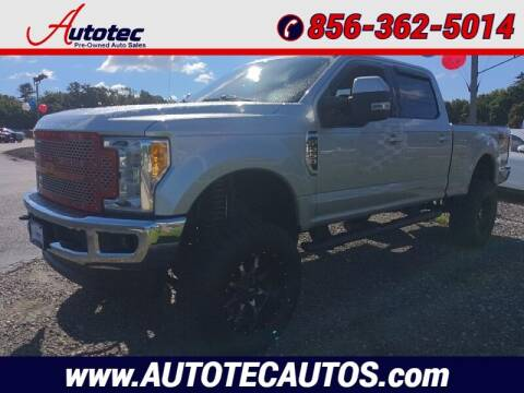 2017 Ford F-250 Super Duty for sale at Autotec Auto Sales in Vineland NJ