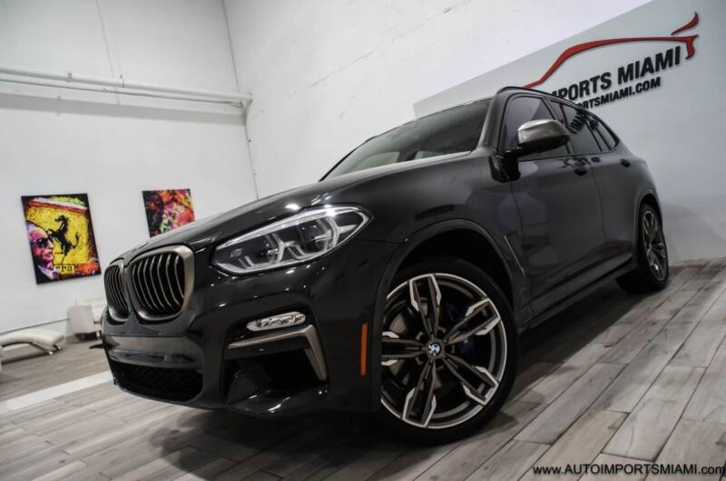 2018 BMW X3 for sale at AUTO IMPORTS MIAMI in Fort Lauderdale FL