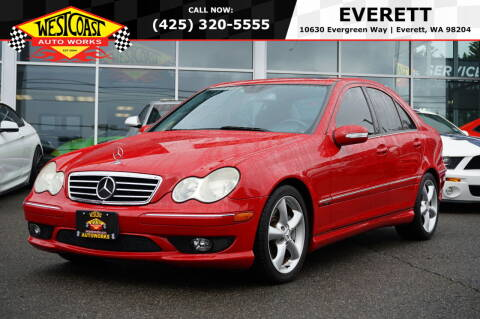 2005 Mercedes-Benz C-Class for sale at West Coast Auto Works in Edmonds WA