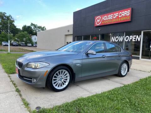 2012 BMW 5 Series for sale at HOUSE OF CARS CT in Meriden CT