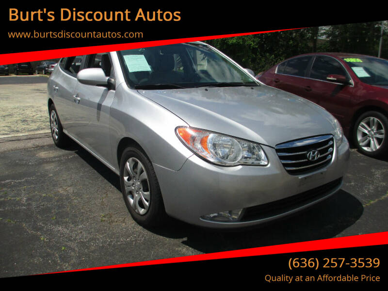 2010 Hyundai Elantra for sale at Burt's Discount Autos in Pacific MO