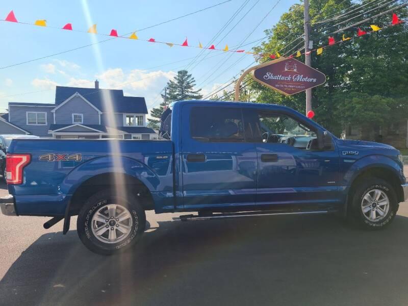 2017 Ford F-150 for sale at Shattuck Motors in Newport VT