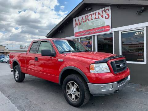 2004 Ford F-150 for sale at Martins Auto Sales in Shelbyville KY