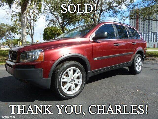 2005 Volvo XC90 for sale at VehicleVille in Fort Lauderdale FL