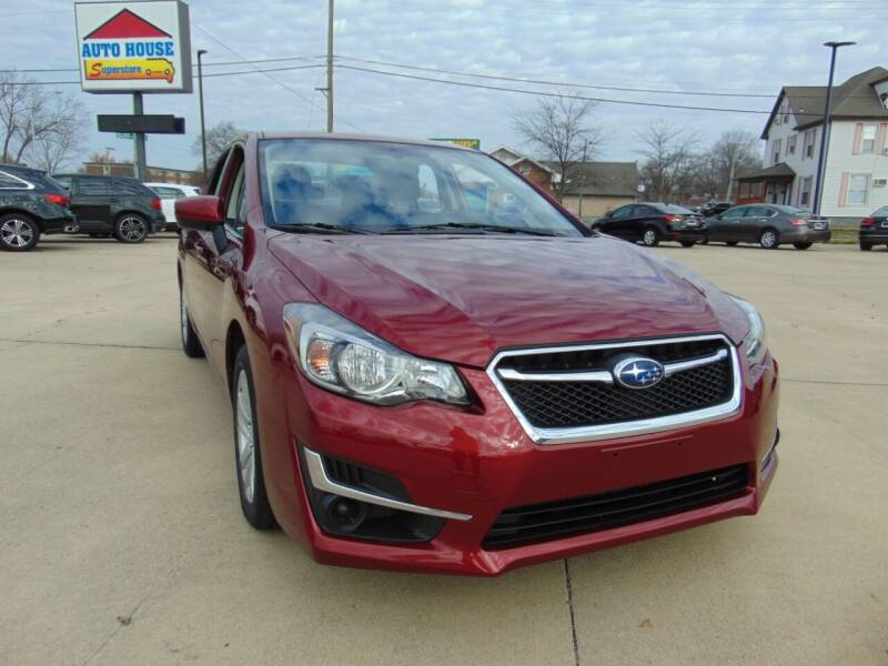 2016 Subaru Impreza for sale at Auto House Superstore in Terre Haute IN