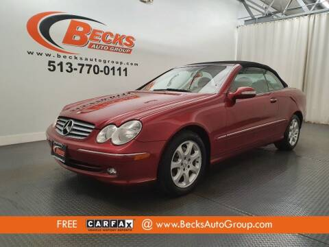 2004 Mercedes-Benz CLK for sale at Becks Auto Group in Mason OH