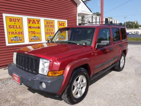 2006 Jeep Commander for sale at Mack's Autoworld in Toledo OH
