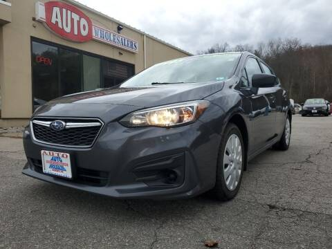 2018 Subaru Impreza for sale at Auto Wholesalers Of Hooksett in Hooksett NH