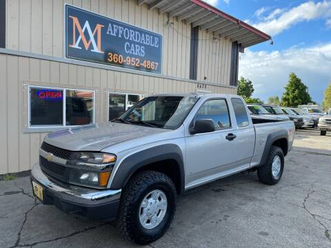 2006 Chevrolet Colorado for sale at M & A Affordable Cars in Vancouver WA