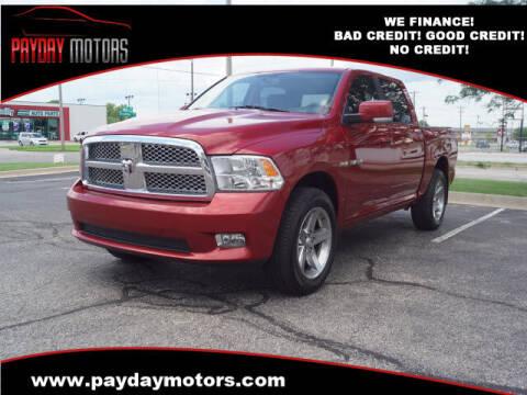 2009 Dodge Ram Pickup 1500 for sale at Payday Motors in Wichita KS