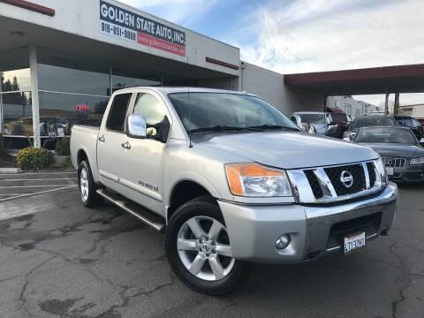 2010 Nissan Titan for sale at Golden State Auto Inc. in Rancho Cordova CA