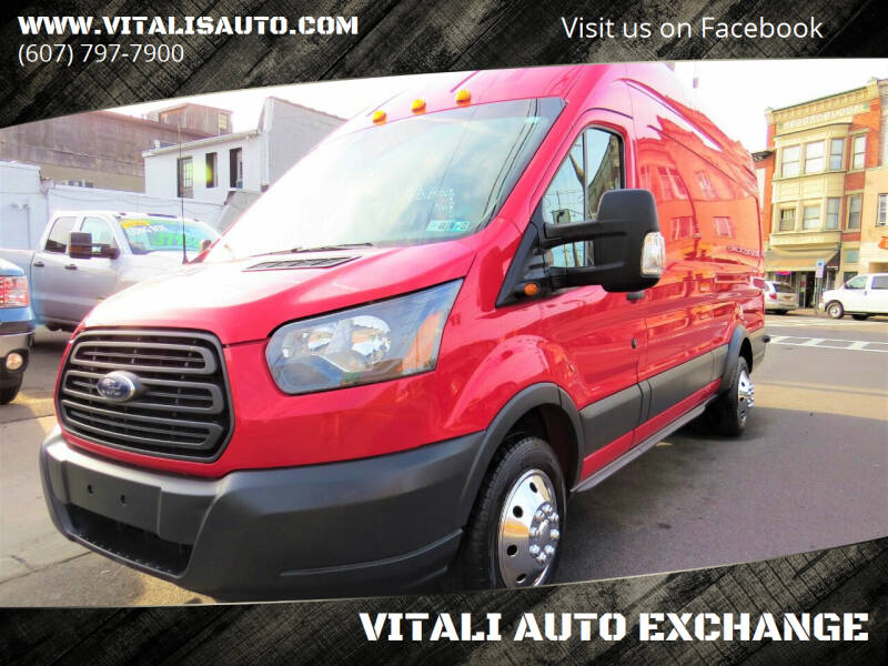 2015 Ford Transit Cargo for sale at VITALI AUTO EXCHANGE in Johnson City NY