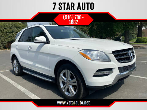 2015 Mercedes-Benz M-Class for sale at 7 STAR AUTO in Sacramento CA