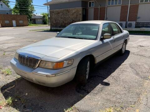 2002 Mercury Grand Marquis for sale at USA AUTO WHOLESALE LLC in Cleveland OH
