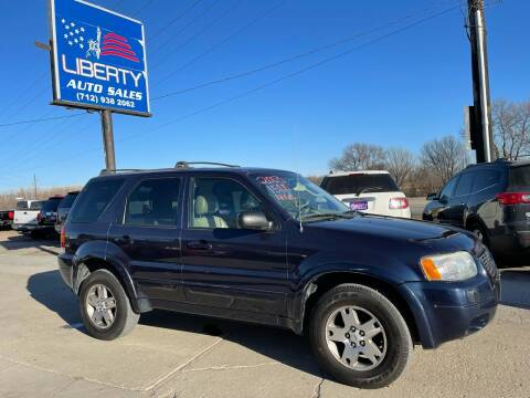 2003 Ford Escape for sale at Liberty Auto Sales in Merrill IA