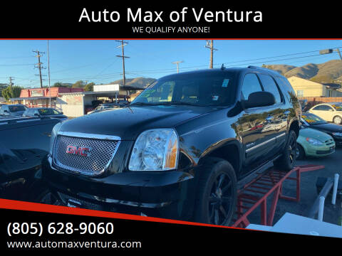 2011 GMC Yukon for sale at Auto Max of Ventura in Ventura CA