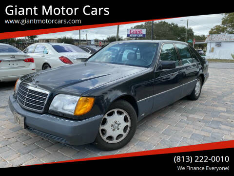 1994 Mercedes-Benz S-Class for sale at Giant Motor Cars in Tampa FL