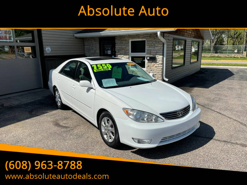 2005 Toyota Camry for sale at Absolute Auto in Baraboo WI