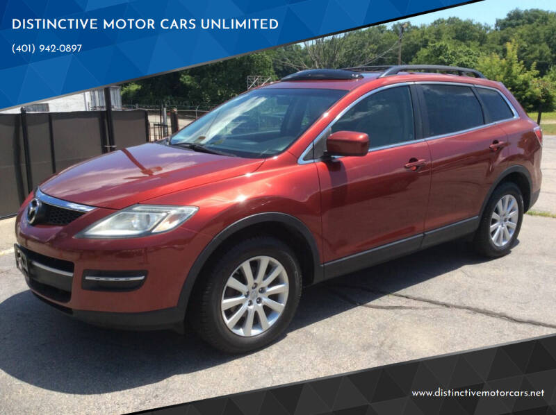 2008 Mazda CX-9 for sale at DISTINCTIVE MOTOR CARS UNLIMITED in Johnston RI