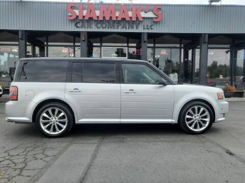 2012 Ford Flex for sale at Siamak's Car Company llc in Salem OR