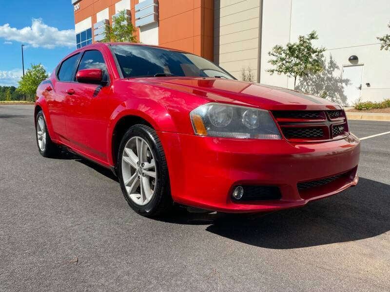 2013 Dodge Avenger for sale at ELAN AUTOMOTIVE GROUP in Buford GA