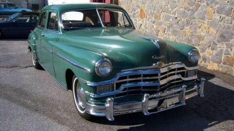 1949 Chrysler New Yorker for sale at RUMBLES in Bristol TN