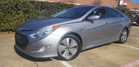 2015 Hyundai Sonata Hybrid for sale at Italy Auto Sales in Dallas TX