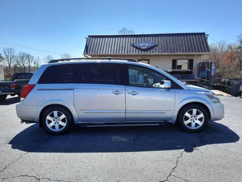 2004 Nissan Quest for sale at G AND J MOTORS in Elkin NC
