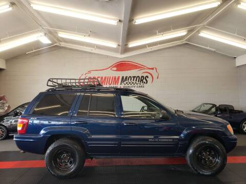 2001 Jeep Grand Cherokee for sale at Premium Motors in Villa Park IL