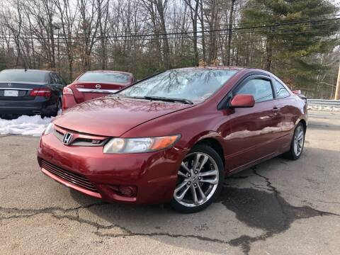 2007 Honda Civic for sale at Royal Crest Motors in Haverhill MA