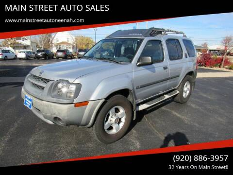 2004 Nissan Xterra for sale at MAIN STREET AUTO SALES in Neenah WI