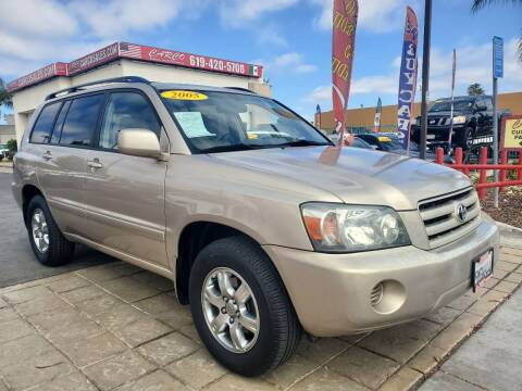 2005 Toyota Highlander for sale at CARCO SALES & FINANCE in Chula Vista CA